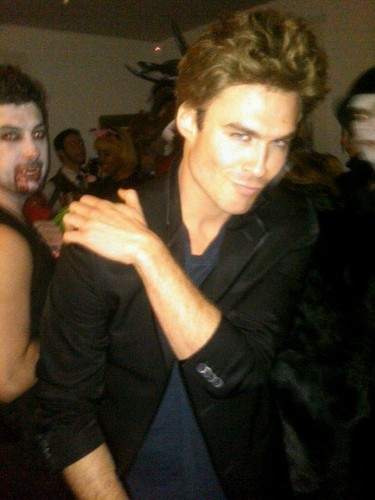 Ian as 'Stefan Salvatore'