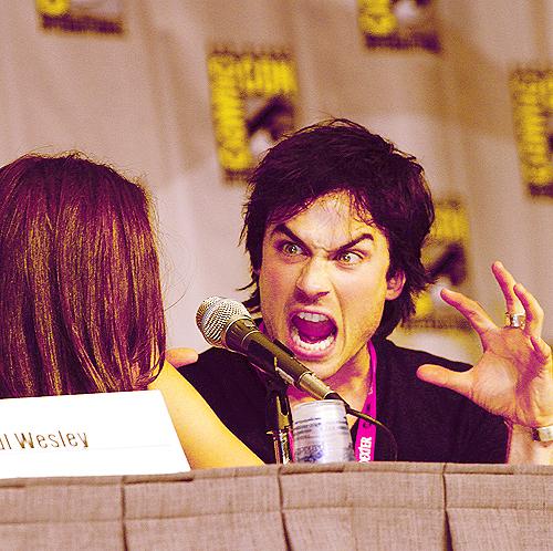 Ian's funny face