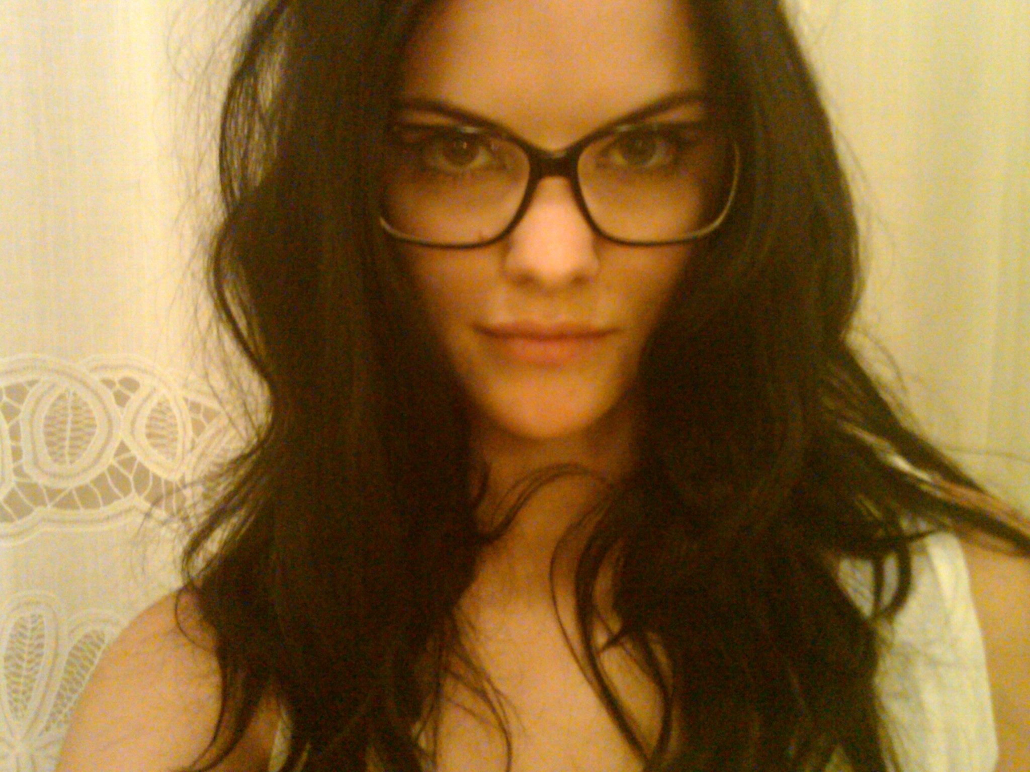 Download this Jaimie Alexander Glasses picture
