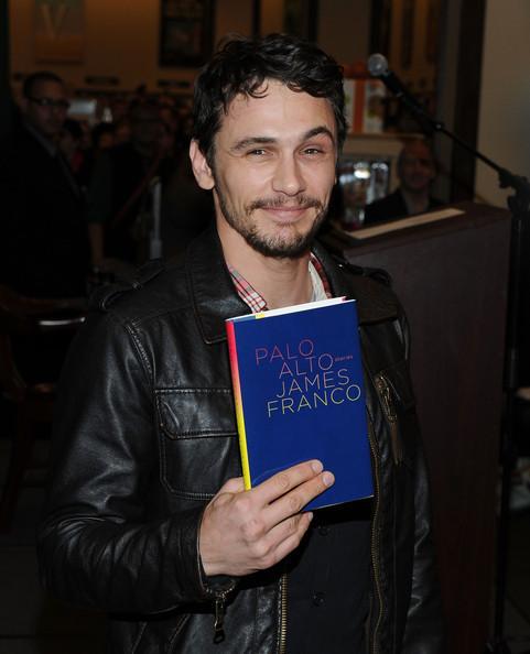 """James Signs Copies of """"Palo Alto"""""""