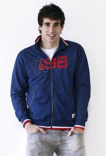 Javi Martinez model for Athletic Bilbao clothing