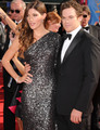Jennifer Carpenter and Michael C. Hall at the 62nd Annual Emmy Awards