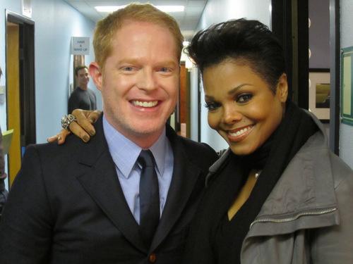 Jesse and Janet Jackson!