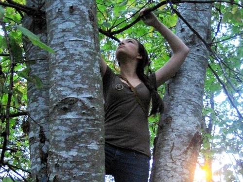 Jodelle as Katniss