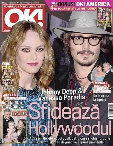 Johnny Depp- OK Magazine - 2010- (turquia)