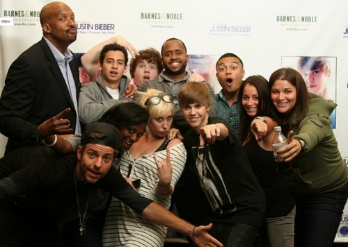 Justin and his team