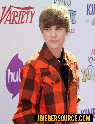 Justin at Variety's 4th Annual Power of Youth Event