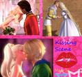 Поцелуи Scene