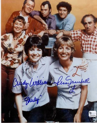 Laverne & Shirley wallpaper possibly with a leisure wear, a sign, and a portrait entitled Laverne & Shirley