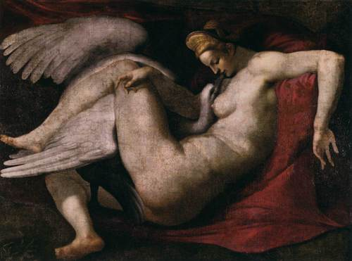 ग्रीक पौराणिक कथाओं वॉलपेपर entitled Leda