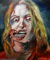 Living dead girl (2010) by Fabrice MARTIN - george-romero fan art