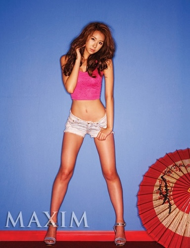 Nine Muses fondo de pantalla entitled Lynn for Maxim