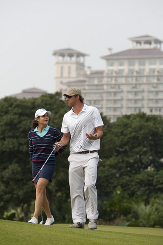 M. Phelps at Mission Hills ngôi sao Trophy