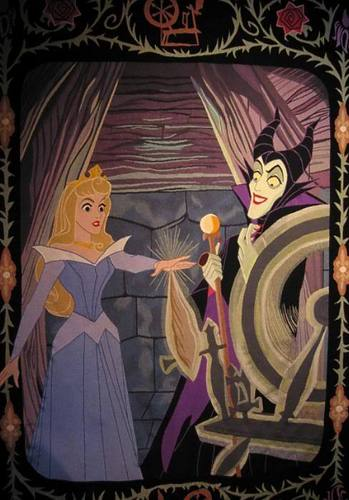 Disney Villains wallpaper possibly with anime titled Maleficent