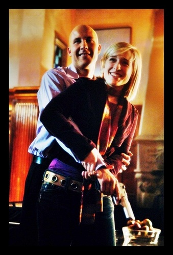 Michael Rosenbaum & Allison Mack