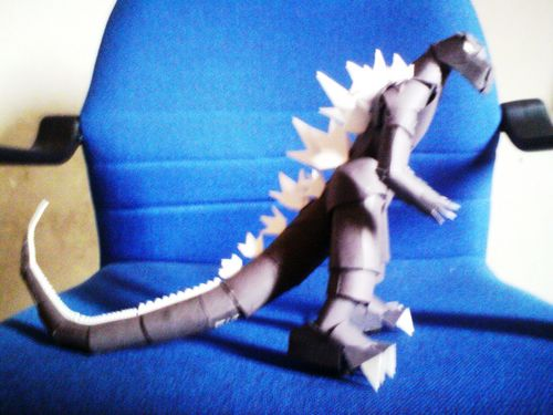 My Godzilla Paper Model - godzilla Photo