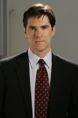 SSA Aaron Hotchner 바탕화면 containing a business suit, a suit, and a double breasted suit titled My favourite Hotch pic