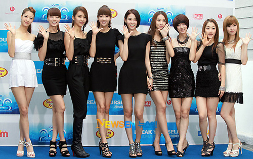 Nine Muses at MNET 20′s Choice