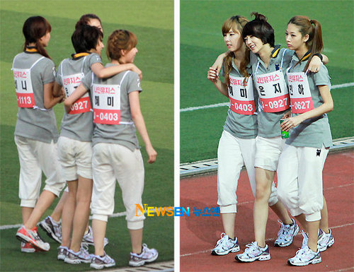 Nine Muses at dol तारा, स्टार Athletics Championships Chuseok Special