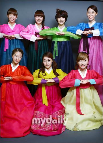 Nine Muses for Chuseok