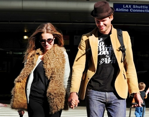 October 30th: arrive at LAX airport hand-in-hand in Los Angeles