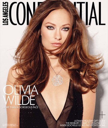 Olivia Wilde's LA Confidential Magazine Photoshoot with Marc Baptiste (Cover)