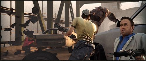 On the bridge  - left-4-dead-2 Screencap
