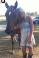 Payton Rae And Her Horse