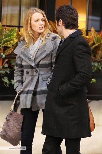 Penn and Blake on Set - 11/01/10