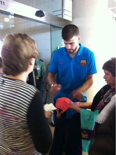 Pique at the airport in Denmark