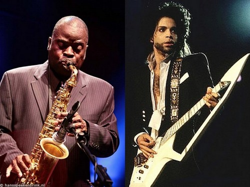 Prince and Maceo Parker - prince Wallpaper