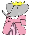 Princess Flora - babar-the-elephant fan art