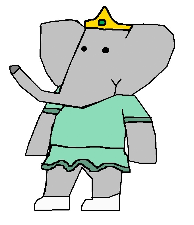 Princess Isabelle Babar The Gajah Fan Art 16632300 Fanpop