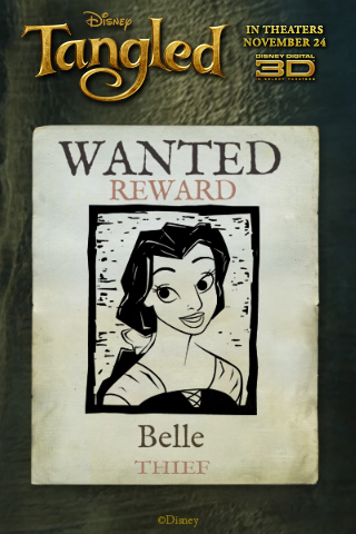 Princess Wanted Poster