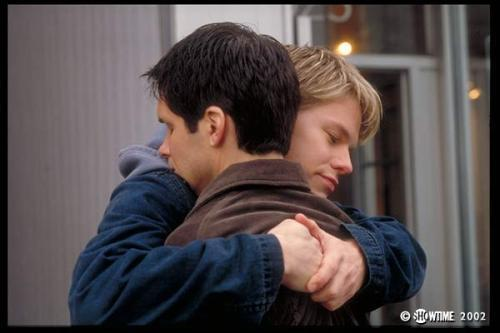 Queer As Folk 壁纸 probably containing a portrait called Queer As Folk cast