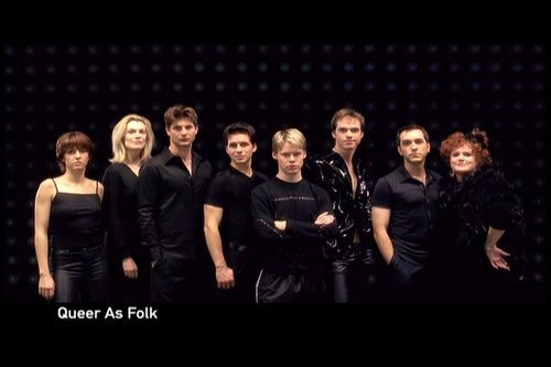 Queer As Folk 壁纸 with a business suit called Queer As Folk cast