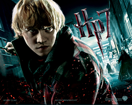 Rony - Harry Potter And The Deathly Hallows