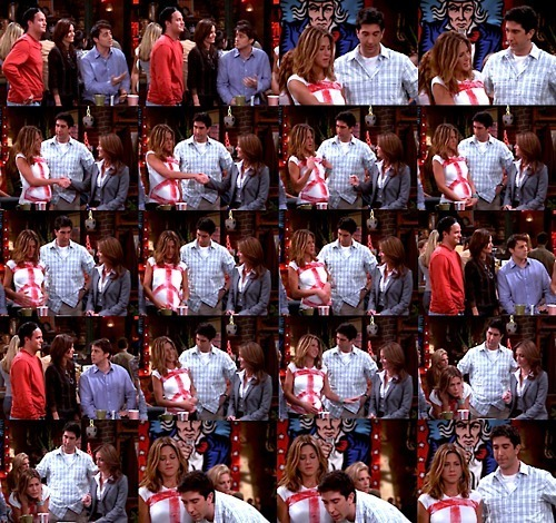 Friends wallpaper entitled Ross & Rachel
