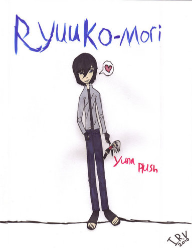 Ryuuko with Yuna Plush