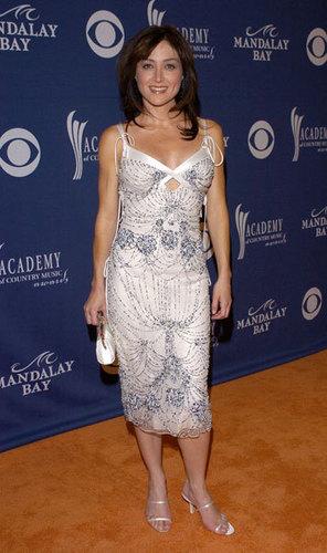 Sasha @ 39th Annual Academy of Country muziek Awards - Arrivals
