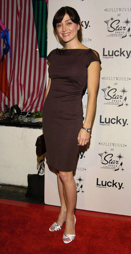 Sasha @ Lucky Magazine Host Party for Hollywould Shoes at तारा, स्टार Shoes