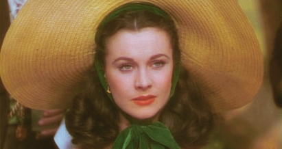 Gone with the Wind wallpaper with a sombrero, a snap brim hat, and a boater called Scarlett