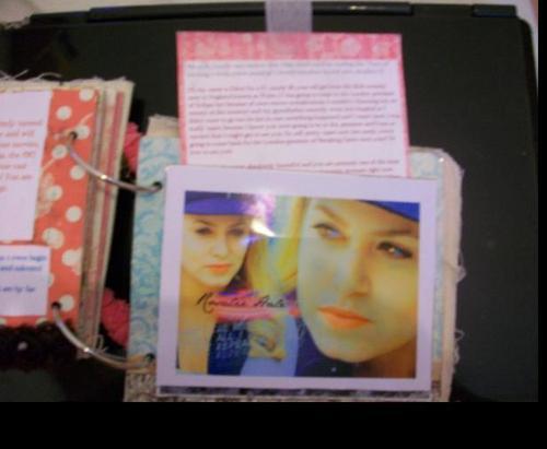 Scrapbook for Nikki