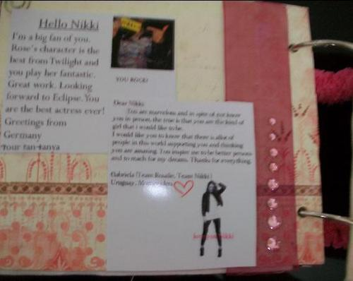 Scrapbook for Nikki