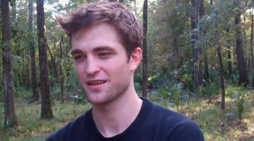 Screencaps from the Taft School hari off video featuring Robert Pattinson