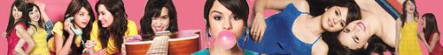 Selena Gomez and Demi Lovato banner