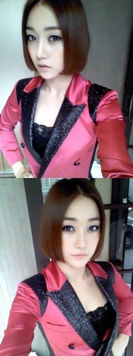 Sera 'short new hair'