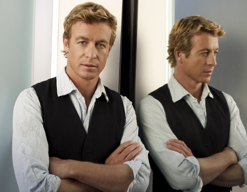 साइमन बेकर वॉलपेपर possibly with a business suit and a suit called Simon Baker