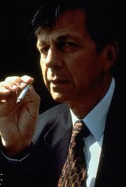 Smoking cigarette man