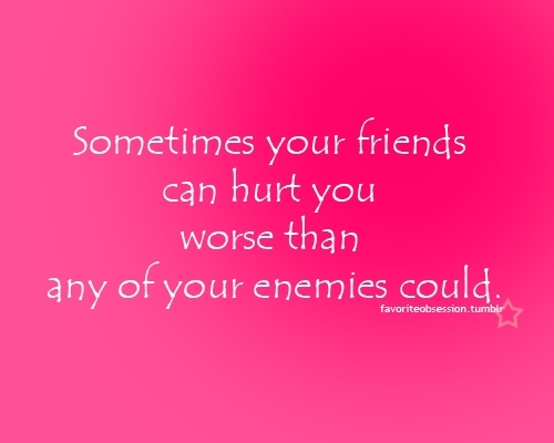 Quotes wallpaper possibly containing a sign called Sometimes your friends...